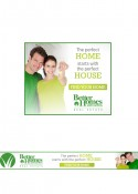 Banner Ads Set 5 The Perfect Home – 300x250px & 728x90px